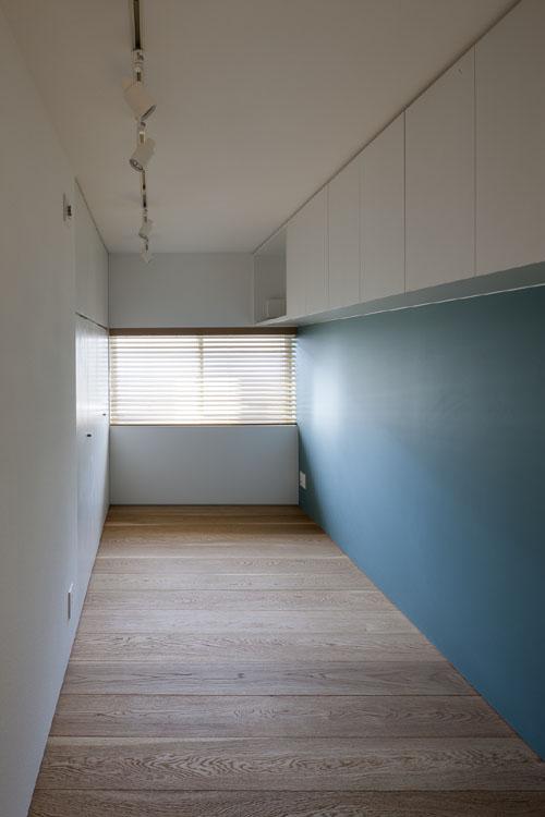 収納と素材感を充実させた子供部屋 @祐天寺の家 その10