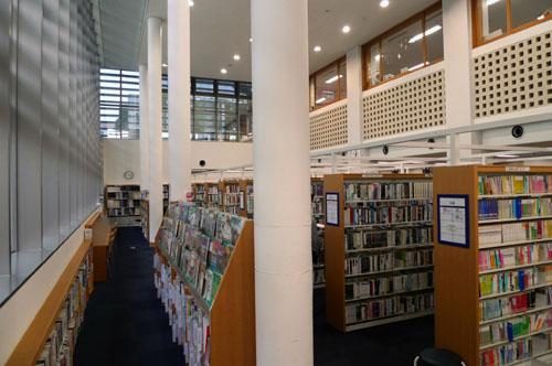 KINOIE SEVEN@練馬区立南田中図書館