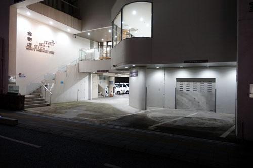 金物屋さんと路地の奥@冬の京都2020