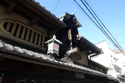 秦家住宅と糸六+aeru@冬の京都2020