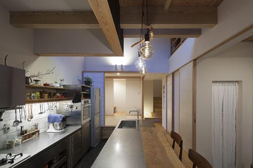 こだわりのキッチン @焼杉に包まれた優しい木の家 その6