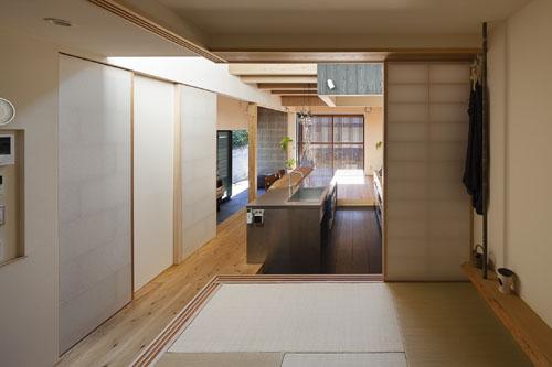 和室の設え @焼杉に包まれた優しい木の家 その7