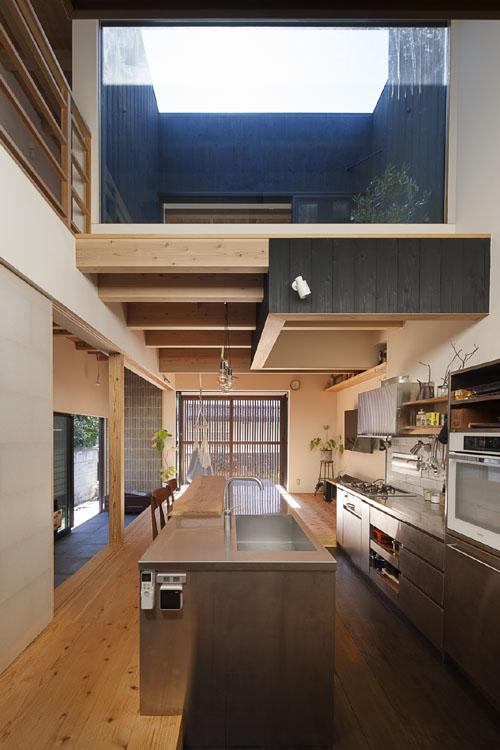 土間と吹抜と暖房と @焼杉に包まれた優しい木の家 その8