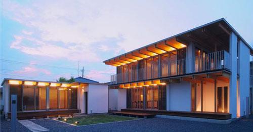 木骨の白い家 その9 全景