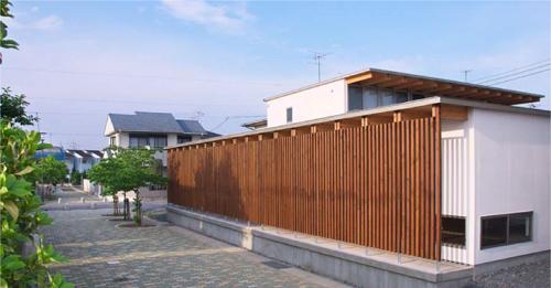 木骨の白い家 その3 街並み・景観への配慮