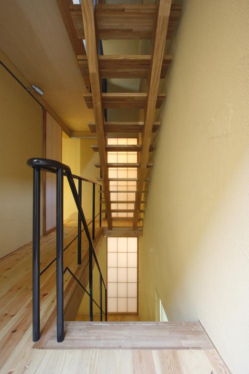 階段室 @中国黄土の家 その5