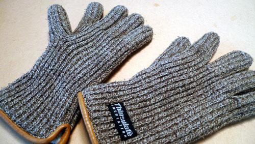 冬のアイテム 手袋