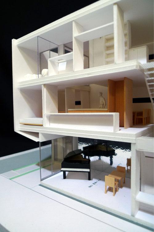 オープンハウスのお知らせ 『狭小の家 with ピアノ教室』