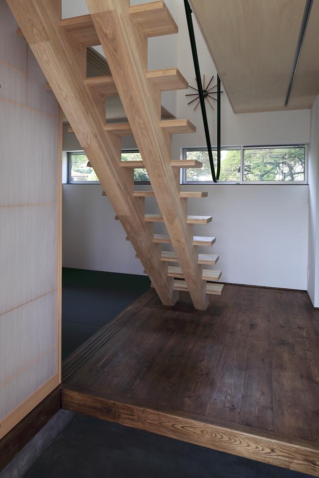 鉄HOUSE その3 玄関スペース