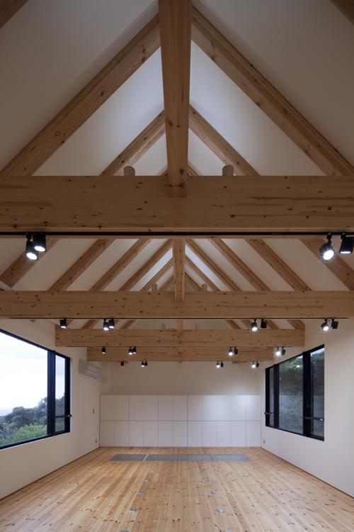 カラクリ水車の小屋 その3 木組みのスタジオ