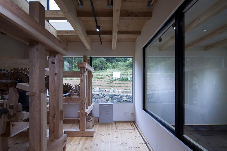 カラクリ水車の小屋 その5 機械室